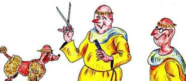 Bissig-ironische Zeichungen mit spitzen Untertiteln (1945-1968) - Morgenstern Karikaturen (von Benjamin Erhardt)