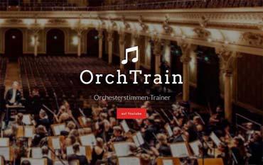 Im virtuellen Orchester mitspielen oder für eine Aufführung mit dem echten Orchester üben - Orchesterstimmen-Trainer (von Benjamin Erhardt)