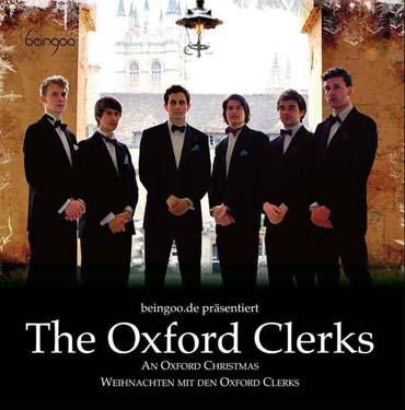 """Die ehrwürdige britische Tradition des """"Six-man close harmony singing"""", also des sechsstimmigen A-Capella-Gesangs - Oxford Clerks (von Benjamin Erhardt)"""