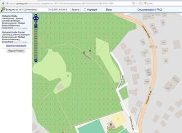 Strukturiertes Auslesen von OpenStreetMap - Geoserv für Listen von POI (von Benjamin Erhardt)