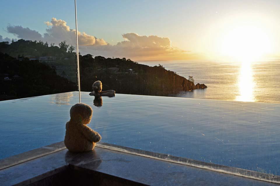 Foster auf den Seychellen. Dafür lebt man doch