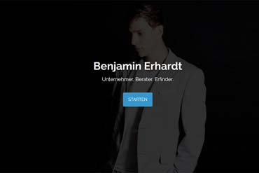 Endlich da! - Meine neue Webseite (von Benjamin Erhardt)