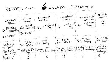 Meine BESTFORMING 6-Wochen-Challenge - -1kg Fett und Muskelzuwachs! (von Benjamin Erhardt)